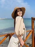 Женская стильная пляжная шляпа, фото 1