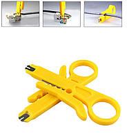 Стриппер для снятия изоляции и расшивки сетевого кабеля, Extools HLT-504