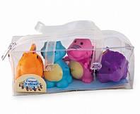Игрушка для купания «Динозавры» 4 шт. Canpol Babies (2/995)