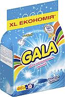 /Порошок стиральный авт  GALA 4кг для цветных вещей Морская свежесть