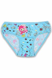 Трусики  детские девочка голубые размер 6-7 AAA 131195P