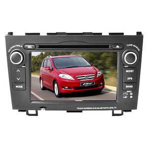 """Штатна автомагнітола Honda CR-V LCD відео магнітола Bluetooth з сенсорним екраном 7"""" TV тюнером GPS DVD MP3"""