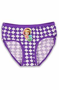 Трусики  детские девочка фиолетовые размер 7-8 AAA 131201P