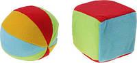 Н-р погремушек (мячик большой + кубик большой) Canpol Babies (2/893)