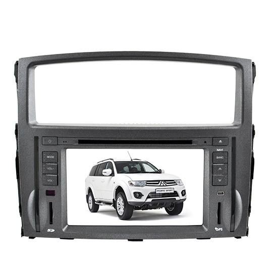 """Автомагнитола штатная Mitsubishi Pajero LCD магнитола Bluetooth с сенсорным экраном 8"""" TV тюнером GPS DVD MP3"""