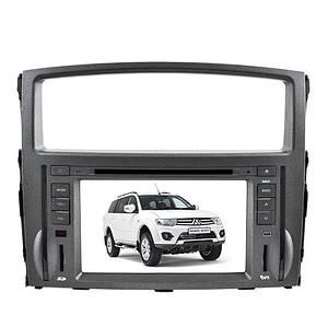 "Штатна автомагнітола Mitsubishi Pajero LCD магнітола Bluetooth з сенсорним екраном 8"" TV тюнером GPS DVD MP3"