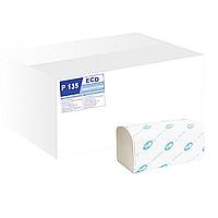 /Полотенца бумажные макулатурные Vобразные ECO 2х сл 150 листов белый TISCHA PAPIER