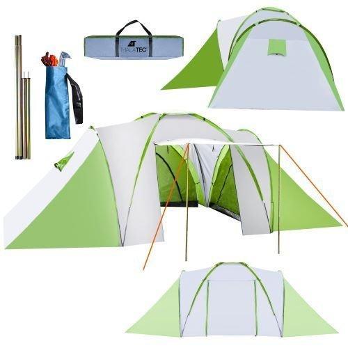 Туристическая палатка на 4-6 человек