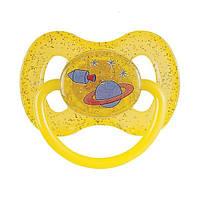 Пустышка латексная круглая 0-6 м-цев Canpol Babies (23/221)