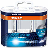 Автолампа D2S  ксенонова Osram 66240 Cool Blue Intense 2 шт.