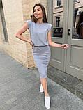Сукня з плічками 46-459, фото 5