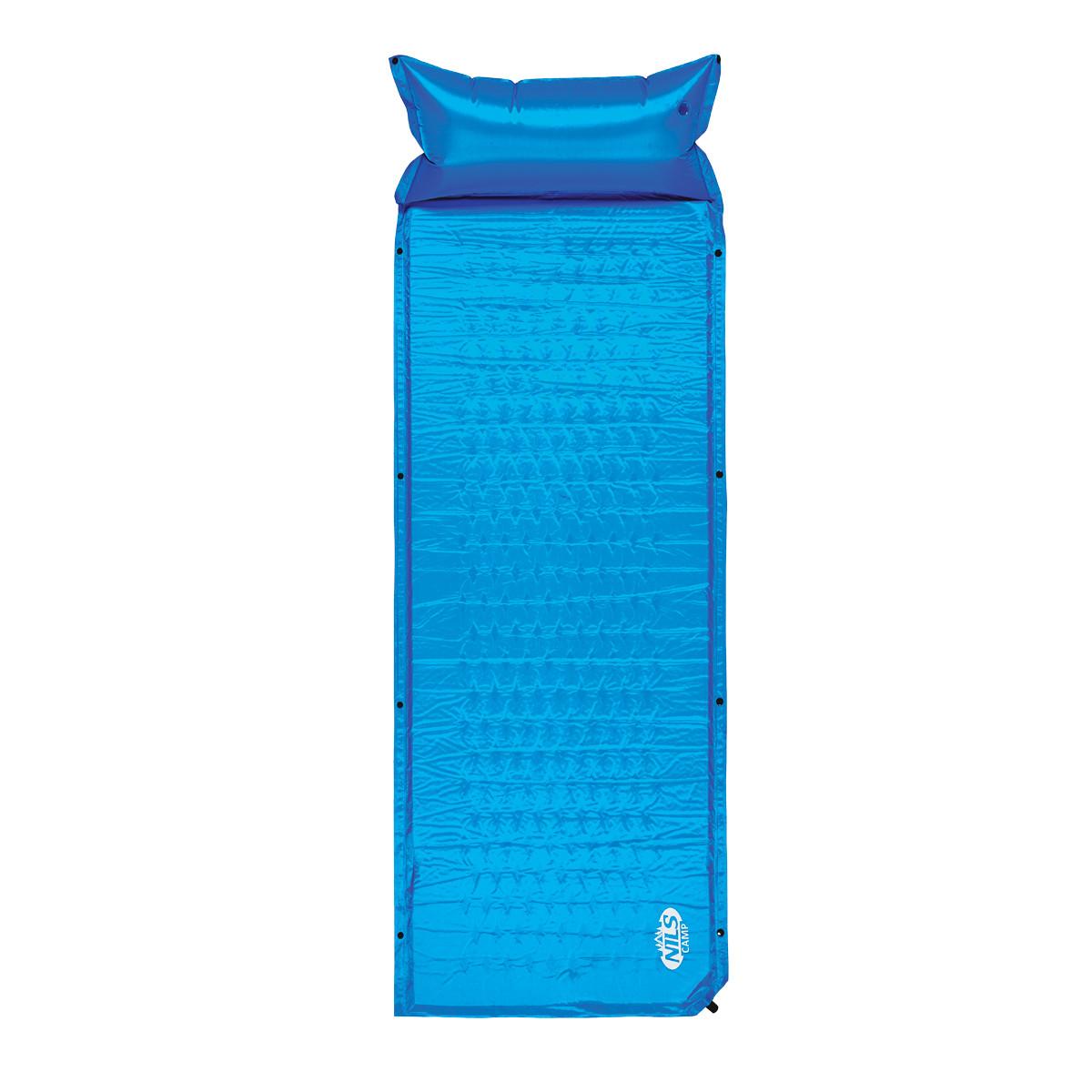 Самонадувний килимок Nils Camp NC1006 186 x 65 x 2.5 см Blue