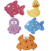 Коврик для купания малыша мини Цветной Океан - 5 шт. Canpol Babies (80/003)