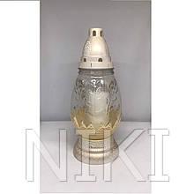 Лампадка склянна 35 год. (27 см.) 6шт/ящ (160ВТ)
