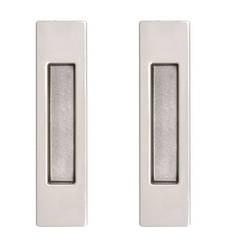 Ручки для раздвижных дверей RDA, комплект матовый хром