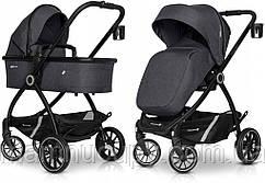 Детская универсальная коляска 2 в 1 Euro-Cart Crox Pro Coal