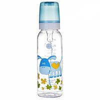Бутылка 250 мл с рисунком (BPA FREE), коллекция Веселые зверюшки Canpol Babies (11/841)