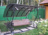 Качели садовые из металла
