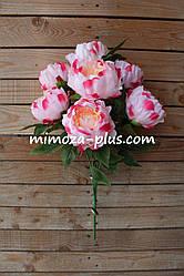 Искусственные цветы - Пион букет, 55 см