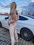 Костюм женский бархатный с длинным рукавом, фото 4