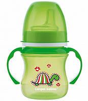 Тренировочная кружка EasyStart Цветные зверюшки 120 мл Canpol Babies (35/207)