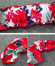 Раздельный женский купальник-бандо со спущенными плечами 42-46 р, фото 3