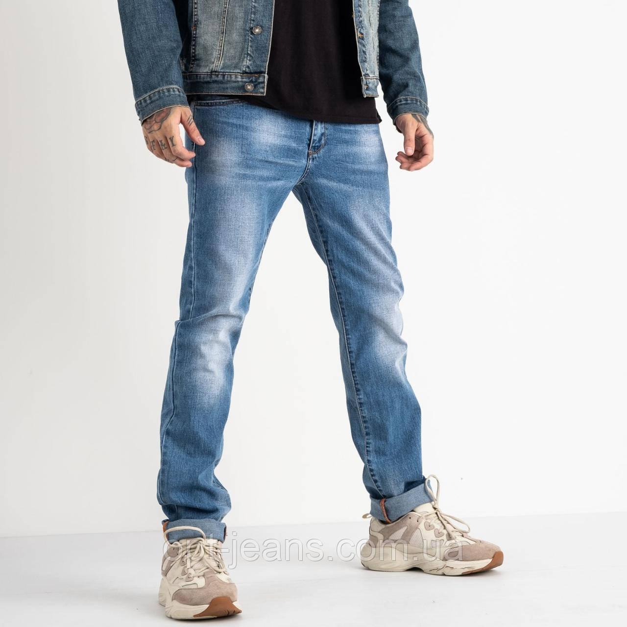 2059 Fang джинси блакитні стрейчеві (8 од. розміри: 28.29.30.31.32.33.34.34)