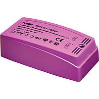 Трансформатор электронный пластик с плавным пуском Feron TRA110 105w 220v/12v