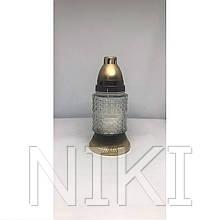 Лампадка склянна 15  год. (18 см.) 12шт/ящ (530ВТ)