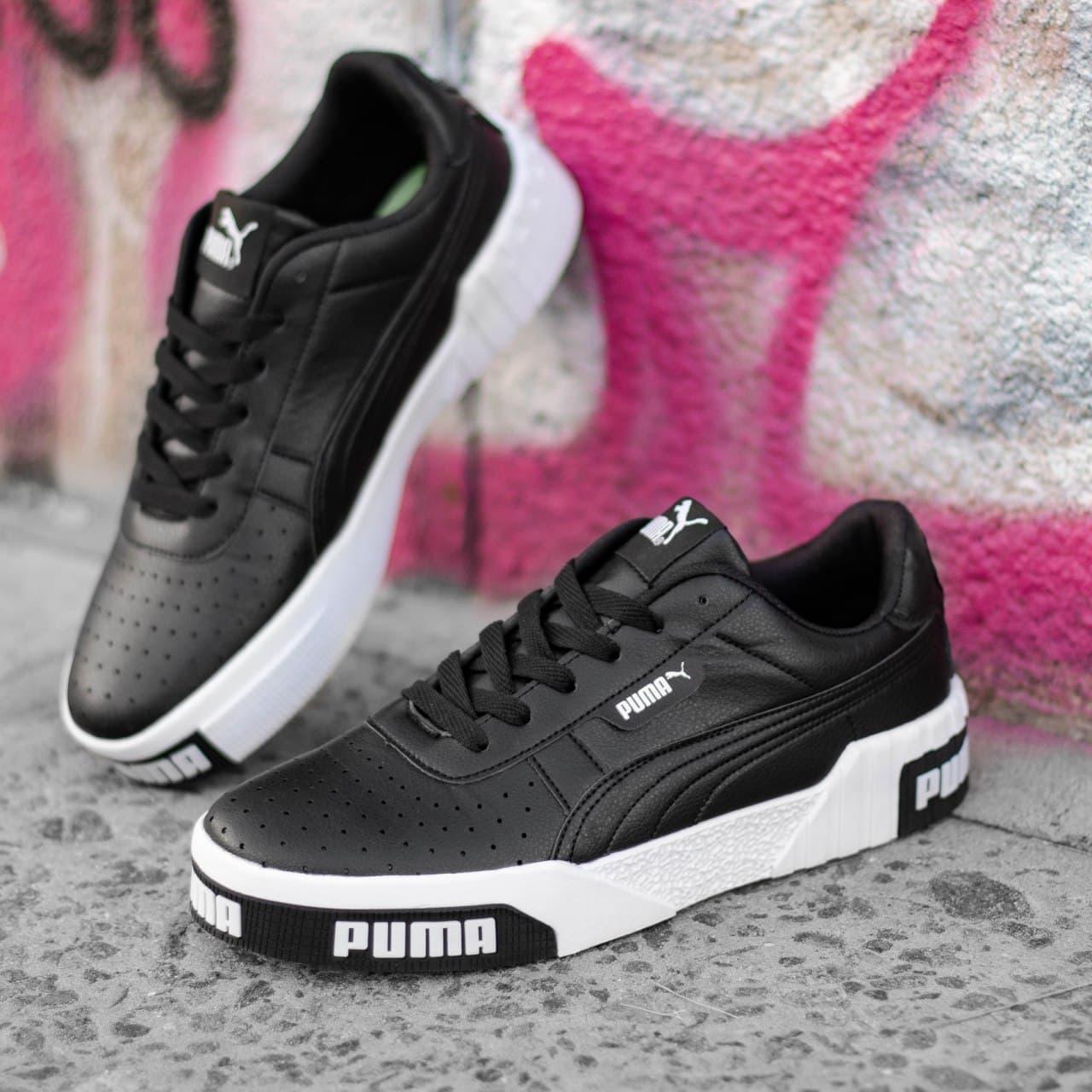 Мужские кроссовки Puma Cali Remix Black\White