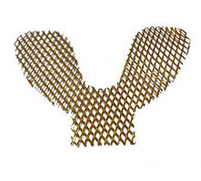 Решетка укрепляющая позолоч. для нижней челюсти