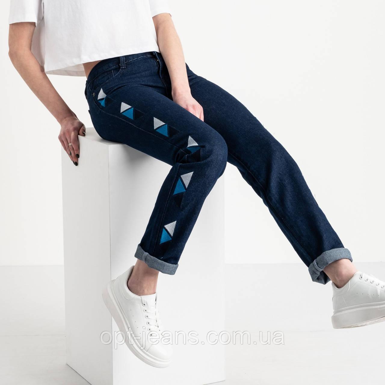 0055 Jushioumfiva джинсы женские синие котоновые ( 6 ед. размеры: 25.26.27.28.29.30)