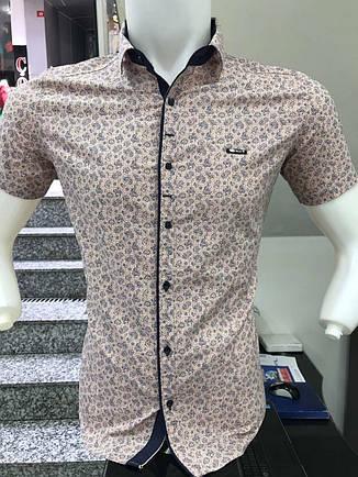 Сорочка з коротким рукавом Paul Jack  з принтом, фото 2