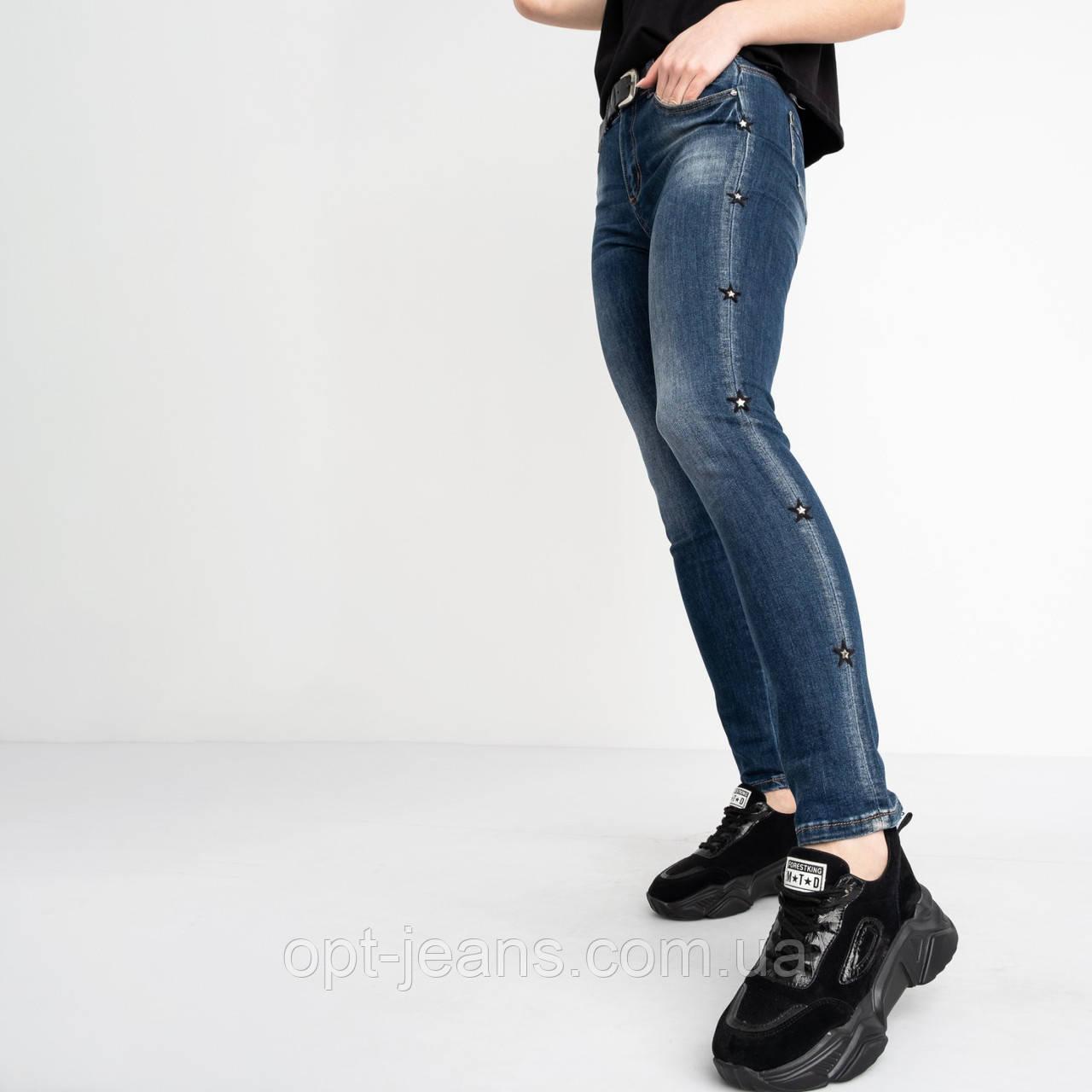 1239 Lady N джинсы полубатальные женские синие стрейчевые (6 ед. размеры: 28.29.30.31.32.33)
