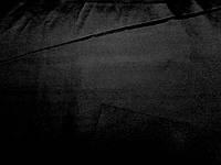 Плащевка Мэмори на интерлоке (черный) (арт. 02200) отрез 1,04 + 0,9 м