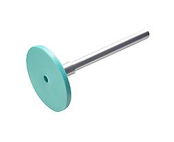 Диск педикюрный пластиковый Pododisc EXPERT S в комплекте со сменным файлом  180 грит 5 шт (15 мм)