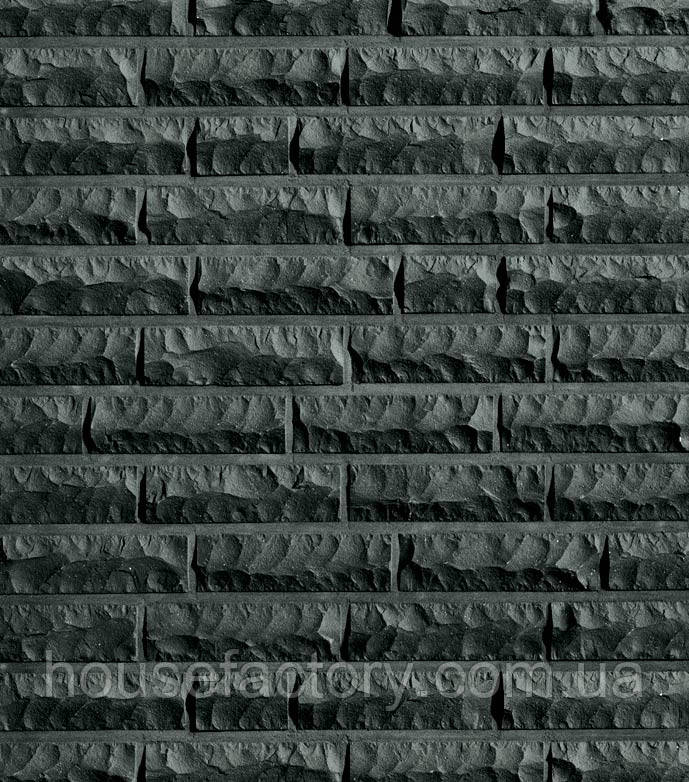 Клинкерный Кирпич Roben Quebec Чёрный с оттенком, Рустованный NF 240x115x71
