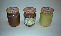 Гречишный мед - Гречневый мед - Мёд гречневый - Мед гречишный 0,5 литра, фото 1