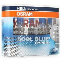 Автолампа HB3  галогеновая 60W Osram 69005 Cool Blue Hyper + 2 шт.