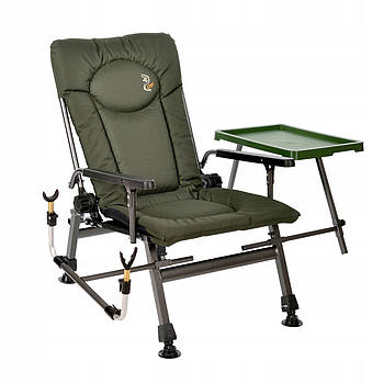 Крісло коропове складне Carp Elektrostatyk F5R ST\р з обвісом 01426