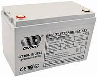 OT 12V100ah  Outdo UPS  Аккумулятор