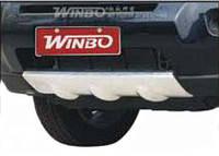 Накладка на бампер пластиковая Nissan X-Trail после 2007 года