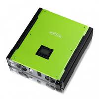 Мережевий інвертор з функцією заряду АКБ InfiniSolar 3kW Plus, фото 1