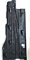 Права накладка обшивки захист днища кузова Шкода Октавія А7 Skoda Octavia A7 за переднім колесом SkodaMag