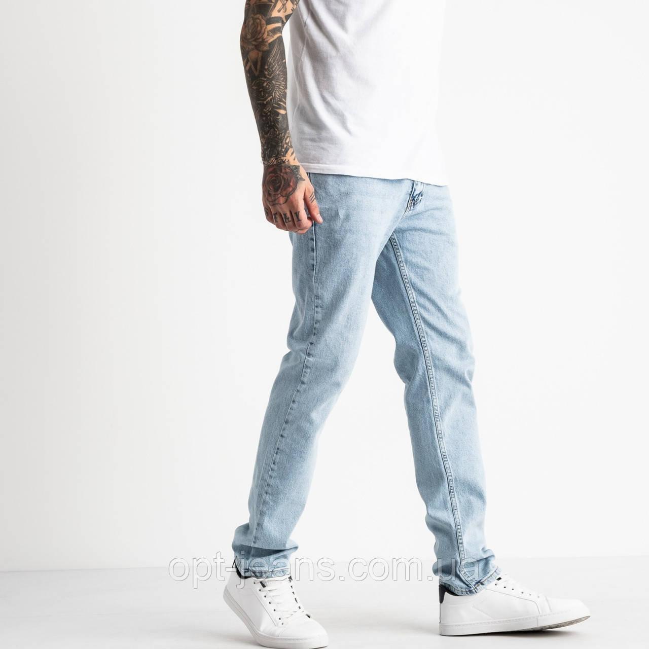 3721-002 In Yesir джинси чоловічі блакитні котонові (8 од. розміри: 29.30.31.32.32.33.34.36)
