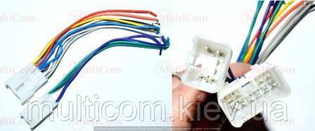 01-17-012. Перехідник автомагнітоли SONY - ISO (456001), з кабелем 20см