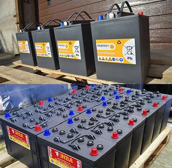 Акумуляторні батареї для підлогомиючих машин, виробництво NBA