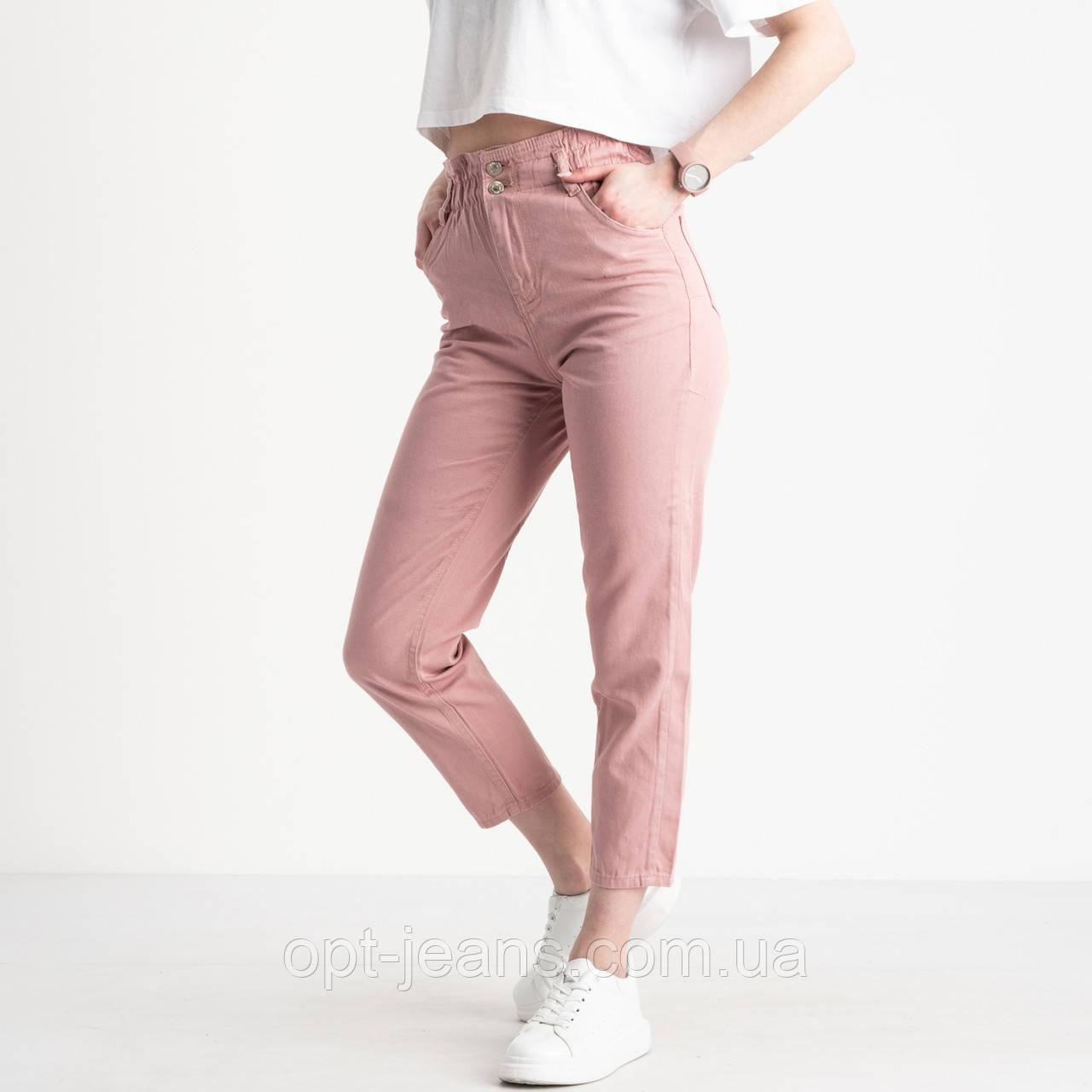 2113 Plus Denim мом женский розовый котоновый (9 ед. размеры: 25.26/3.28/2.30/2.32)