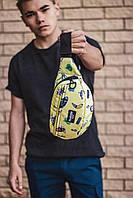 Бананка Custom Wear Triada Rick and Morty Yellow 22*15*8 [58547-16]