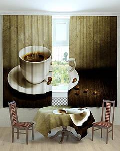 Фотошторы для кухни аромат кофе